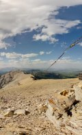 360 degree panorama from a summit of Mount Burke.