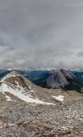 360 Degree view from the summit of the East End of Mount Rundle.