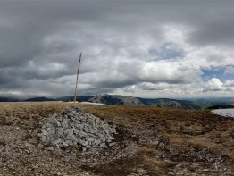 360 degree panorama from Prairie Mountain summit.