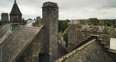 Roof of the Bunratty Castle