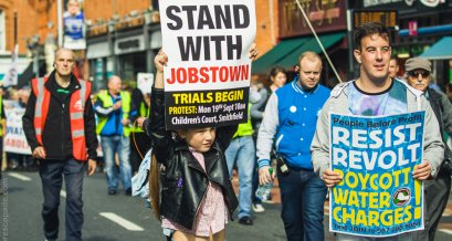 Right2Water Campaign - Dublin Protests