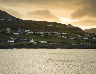Tórshavn at sunset