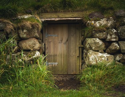 A door made for a hobbit!