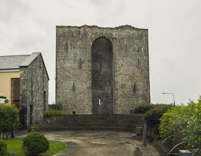 Listowel Castle from the front.
