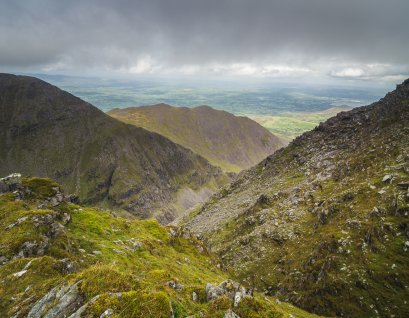 The view from Carrauntoohil