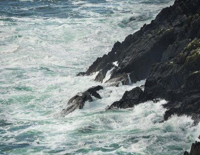 Rocky cliffs of Dursey Island
