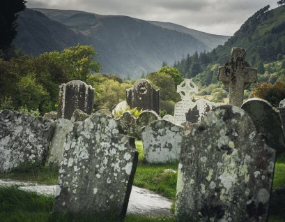 Glendalough in the Wicklow Mountains