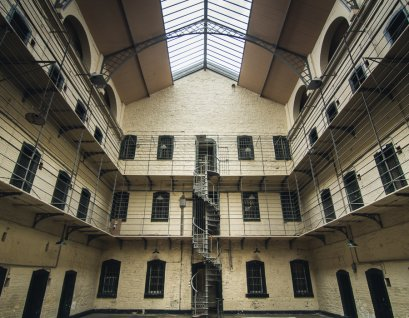 The most modern of the cell blocks in Kilmainham Gaol