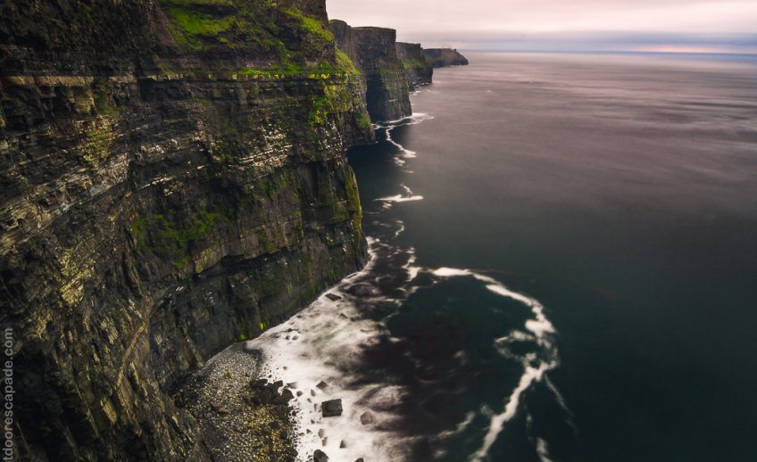 The large cliffs of Moher just south of Doolin