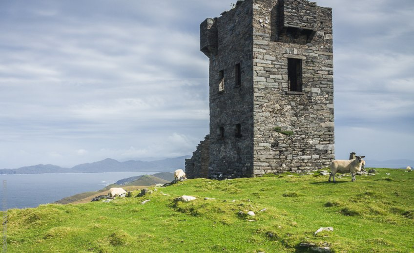 An old signal tower on Dursey Island