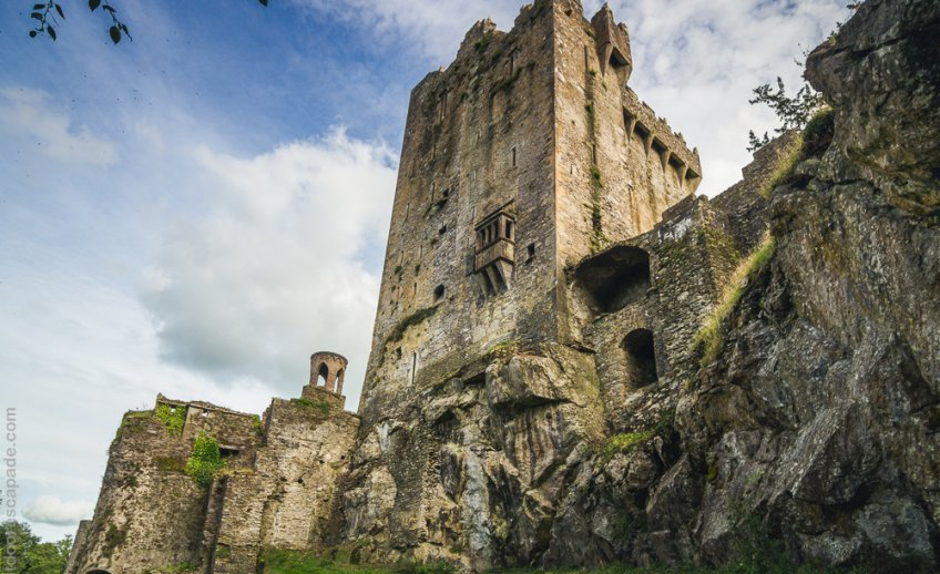 The impressive Blarney Castle