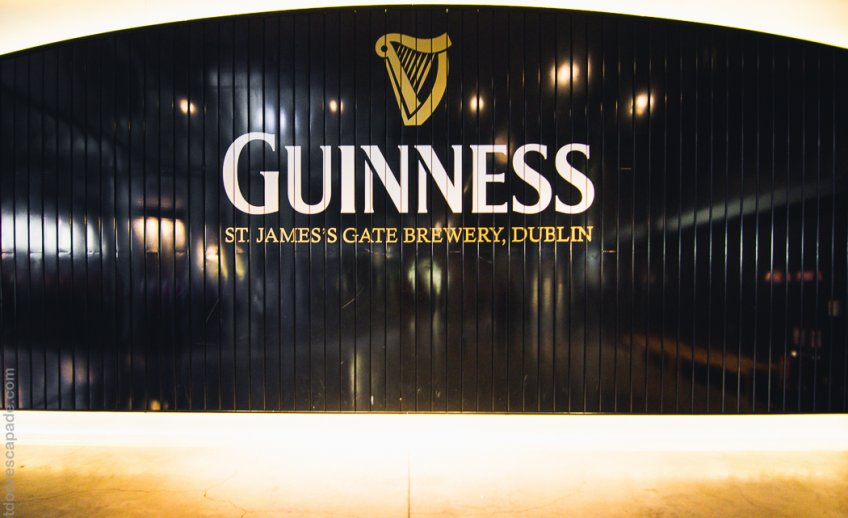 Enter.. the Guinness Storehouse