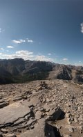 360 Degree view from the summit of Mount Yamnuska.